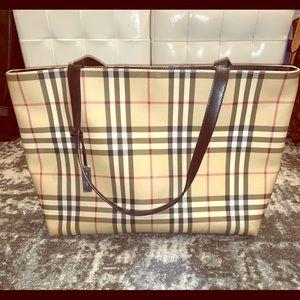 Classic Burberry tote bag